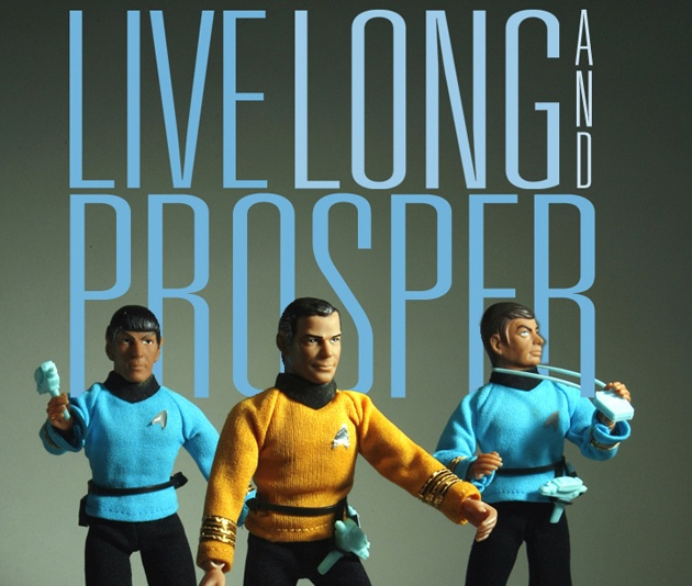 star trek Live Long and Prosper