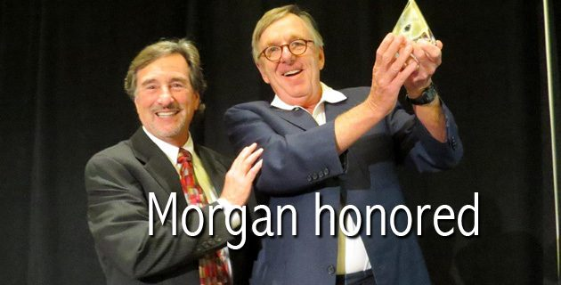 morgan-honored