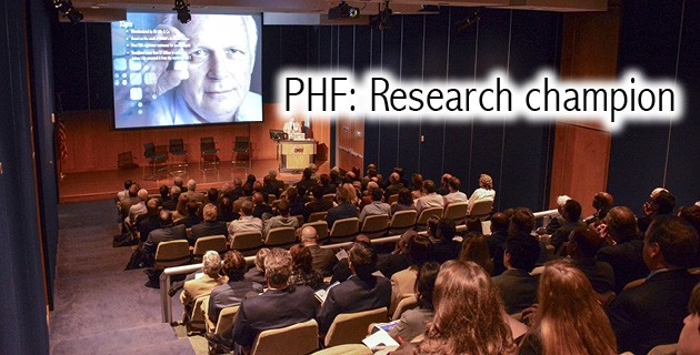PHF: Research champion