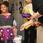 OMRF welcomes trick-or-treaters from Positive Tomorrows